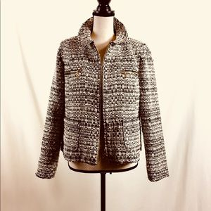 Zara Short Tweed Jacket for Early Spring Size 12